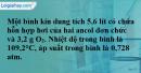 Bài 42.11* trang 68 SBT hóa học 11