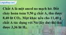Bài 42.12 trang 68 SBT hóa học 11
