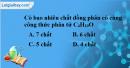 Bài 42.1, 42.2, 42.3 trang 66 SBT hóa học 11