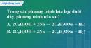 Bài 42.4, 42.5, 42.6 trang 67 SBT hóa học 11