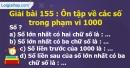Bài 155 : Ôn tập về các số trong phạm vi 1000