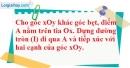 Bài 50 trang 164 SBT toán 9 tập 1