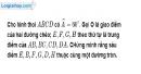 Bài 1.3 phần bài tập bổ sung trang 158 SBT toán 9 tập 1