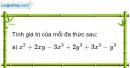 Bài 24 trang 46 Vở bài tập toán 7 tập 2