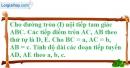 Bài 52 trang 165 SBT toán 9 tập 1