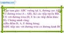 Bài 56 trang 165 SBT toán 9 tập 1