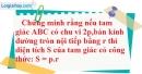 Bài 57 trang 165 SBT toán 9 tập 1