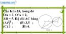Bài 7.1 phần bài tập bổ sung trang 168 SBT toán 9 tập 1