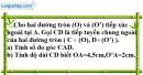 Bài 73 trang 169 SBT toán 9 tập 1