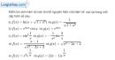 Bài 3.1 trang 163 SBT giải tích 12