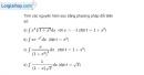 Bài 3.4 trang 164 SBT giải tích 12