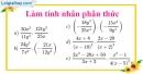 Bài 29 trang 32 SBT toán 8 tập 1