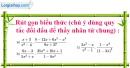 Bài 30 trang 32 SBT toán 8 tập 1