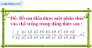 Bài 35 trang 33 SBT toán 8 tập 1