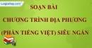 Chương trình địa phương (phần Tiếng Việt)