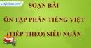 Ôn tập phần Tiếng Việt (tiếp theo)