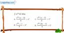 Bài 3.12 trang 165 SBT giải tích 12