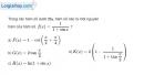 Bài 3.8 trang 165 SBT giải tích 12