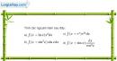 Bài 3.9 trang 165 SBT giải tích 12