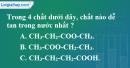 Bài 45.5, 45.6, 45.7, 45.8 trang 71 SBT hóa học 11