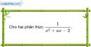 Bài 4.2 phần bài tập bổ sung trang 28 SBT toán 8 tập 1