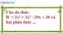 Bài 15 trang 28 SBT toán 8 tập 1