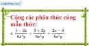 Bài 17 trang 28 SBT toán 8 tập 1