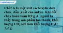 Bài 45.14 trang 73 SBT hóa học 11