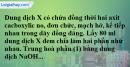 Bài 45.15 trang 73 SBT hóa học 11