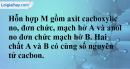 Bài 45.16 trang 73 SBT hóa học 11