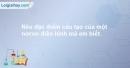 Bài 2 trang 97 SBT Sinh học 8