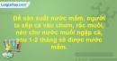 Bài 2 trang 138 SBT Sinh học 10