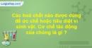 Bài 31 trang 157 SBT Sinh học 10