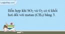 Bài 29.16 trang 66 SBT Hóa học 10