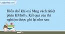 Bài 29.8 trang 64 SBT Hóa học 10
