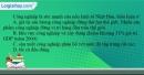 Câu 1 trang 58 SBT địa 11