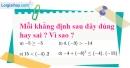 Bài 1 trang 50 SBT toán 8 tập 2