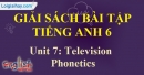 Phonetics - trang 4 Unit 7 SBT Tiếng anh 6 mới