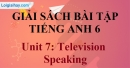 Speaking - trang 6 Unit 7  SBT tiếng Anh lớp 6 mới