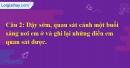 B. Hoạt động ứng dụng - Bài 1C: Vẻ đẹp mỗi buổi trong ngày
