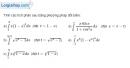 Bài 3.17 trang 170 SBT giải tích 12