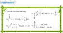 Bài 3.19 trang 171 SBT giải tích 12