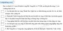 Câu 3 trang 59 SBT địa 9