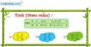 A. Hoạt động thực hành - Bài 4: Ôn tập các phép tính với phân số