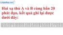 Bài 13 trang 10 SBT toán 7 tập 2