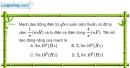 Bài 20.10, 20.11 trang 55 SBT Vật Lí 12