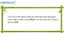 Bài 20.12 trang 55 SBT Vật Lí 12