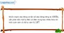 Bài 20.13 trang 55 SBT Vật Lí 12