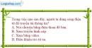 Bài 23.1, 23.2, 23.3, 23.4 trang 60 SBT Vật Lí 12