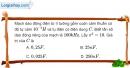 Bài IV.1, IV.2 trang 61 SBT Vật Lí 12